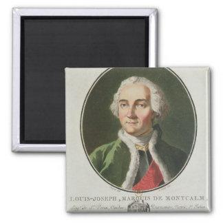 Louis-Joseph de Montcalm  1790 2 Inch Square Magnet