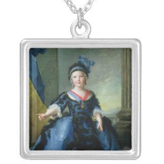 Louis-Joseph-Xavier de France  Duke of Silver Plated Necklace
