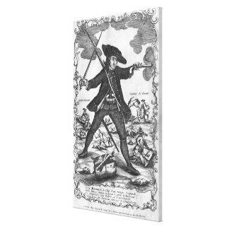 Louis Mandrin Canvas Print