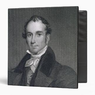 """Louis McLane, grabado por Thomas Kelly (c.1795-c.1 Carpeta 1 1/2"""""""