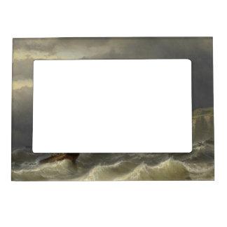 Louis Meijer - Storm in het Nauw van Calais Magnetic Photo Frame