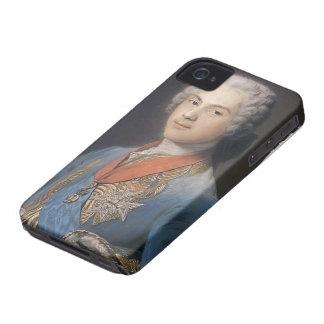 Louis of France by Maurice Quentin de La Tour iPhone 4 Case