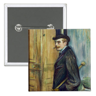 Louis Pascal, 1891 Button