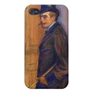 Louis Pascal by Toulouse-Lautrec iPhone 4 Case