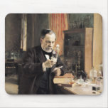 Louis Pasteur en su laboratorio, 1885 Alfombrilla De Ratones