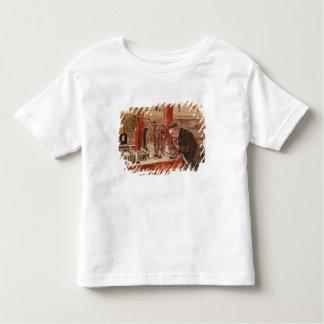 Louis Pasteur experimenting Toddler T-shirt