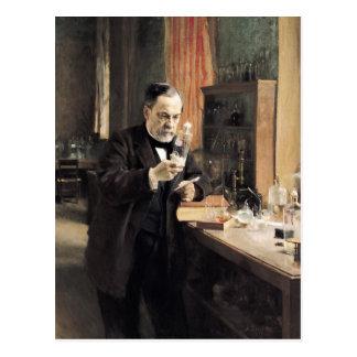 Louis Pasteur  in his Laboratory, 1885 Postcards