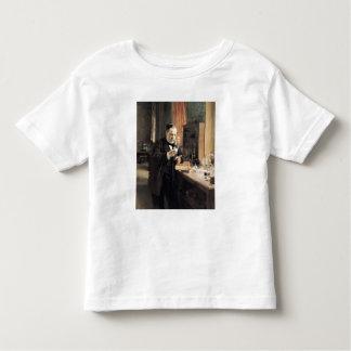 Louis Pasteur  in his Laboratory, 1885 Toddler T-shirt