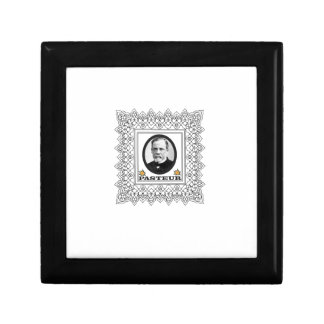 Louis Pasteur Joyero Cuadrado Pequeño