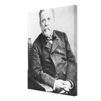Louis Pasteur Lienzo Envuelto Para Galerías
