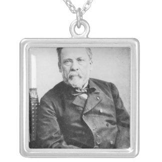 Louis Pasteur Silver Plated Necklace