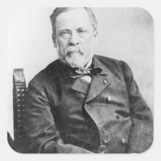Louis Pasteur Square Sticker