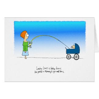 Louis permeable tarjeta de felicitación