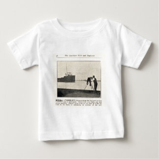 Louis Pesha Photographing the Big Boats Baby T-Shirt