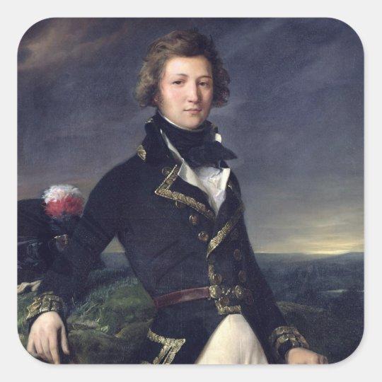 Louis-Philippe d'Orleans  1834 Square Sticker