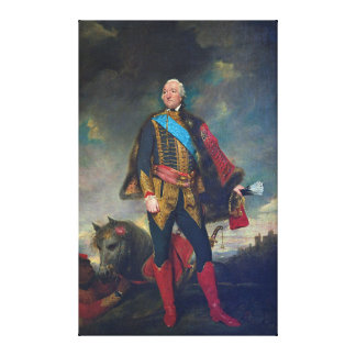 Louis Philippe d'Orléans by Joshua Reynolds (1779) Canvas Print