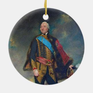 Louis Philippe d'Orléans by Joshua Reynolds (1779) Ceramic Ornament