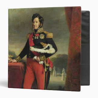 Louis-Philippe I , King of France 3 Ring Binder