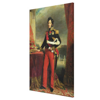 Louis-Philippe I , King of France Canvas Print