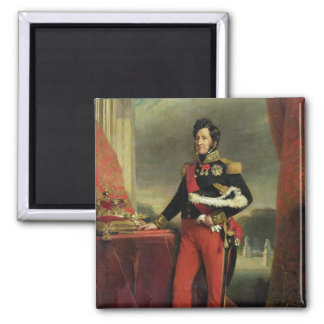 Louis-Philippe I , King of France 2 Inch Square Magnet