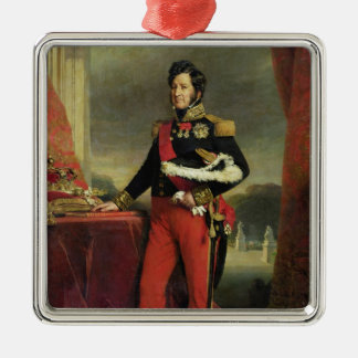 Louis-Philippe I , King of France Metal Ornament