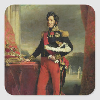 Louis-Philippe I , King of France Square Sticker