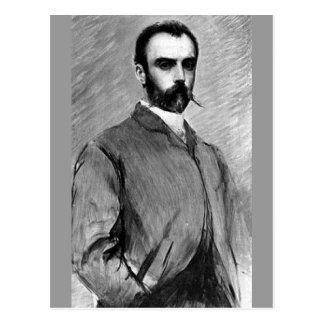 Louis Ricardo Falero - Selfportrait Postal