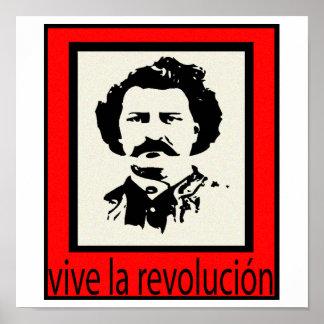 Louis Riel Revolucion Poster