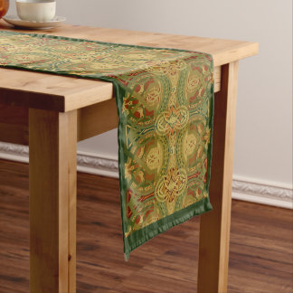 Louis Sullivan Upper Beam Stencil Pattern Long Table Runner