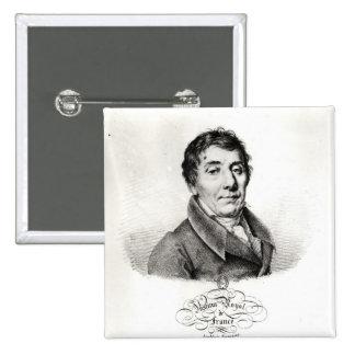 Louis, Vicomte de Blonald  1820 Button