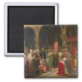 Louis VII los jóvenes, rey de Francia Imán Cuadrado