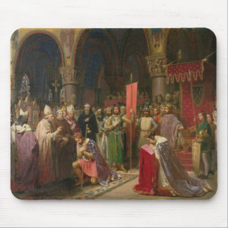 Louis VII  the Young, King of France Mouse Pad