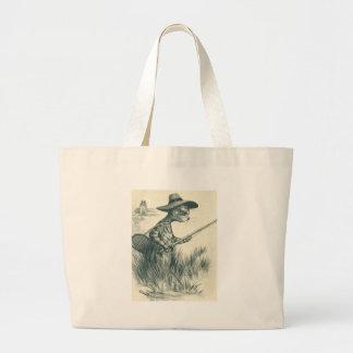 Louis Wain Artwork -- Gone Fishing Cat Bags