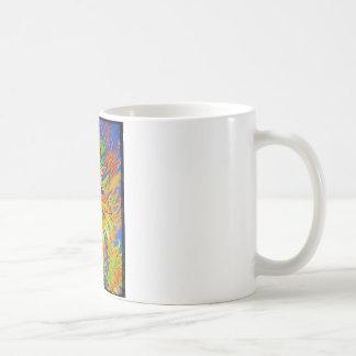 Louis Wain - Blue Paisley Cat Coffee Mug