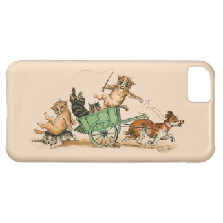 Louis Wain - Cats and Dog iPhone 5C Cover