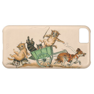 Louis Wain - Funny  Anthropomorphic Cats iPhone 5C Covers