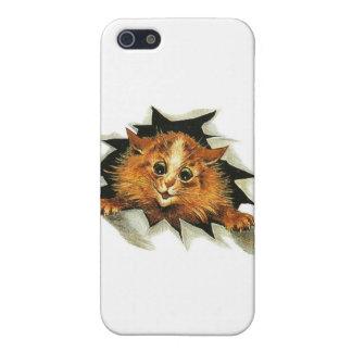 Louis Wain Ice Cat Artwork iPhone SE/5/5s Case