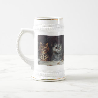 LOUIS WAIN KITTY BACHELOR PARTY 18 OZ BEER STEIN
