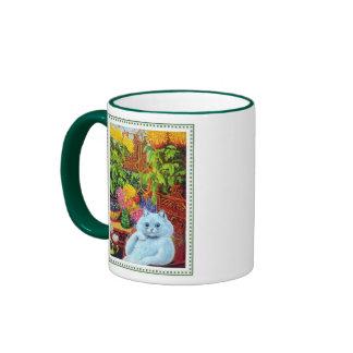 Louis Wain - The Anthropomorphic Cat Ringer Coffee Mug