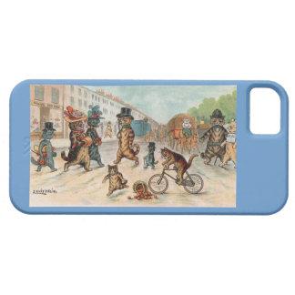 Louis Wain - Town Cats - Vintage Art iPhone SE/5/5s Case