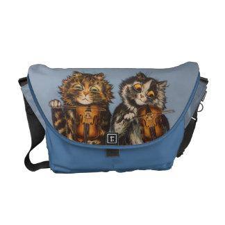 Louis Wain - Vintage Cat Violinists Rickshaw Bag