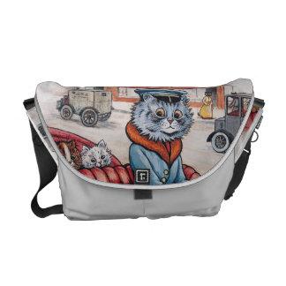 Louis Wain - Vintage Cats Rickshaw Bag