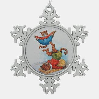 Louis Wain's Acrobatic Cats Ornament