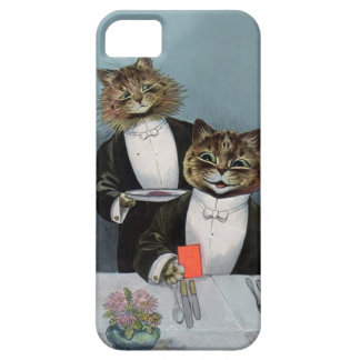 Louis Wain's Cat's Night Out - Cute Vintage Cats iPhone 5 Covers
