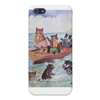 Louis Wain's Swimming Cats iPhone SE/5/5s Case