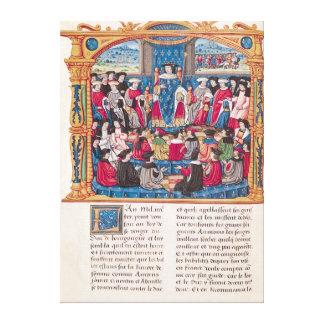 Louis XI Canvas Print