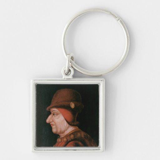 Louis XI Key Chain