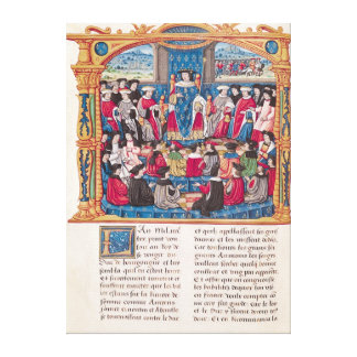 Louis XI Impresión En Lienzo Estirada