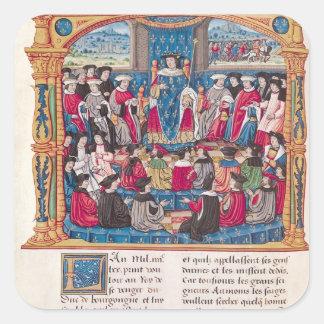 Louis XI Square Sticker