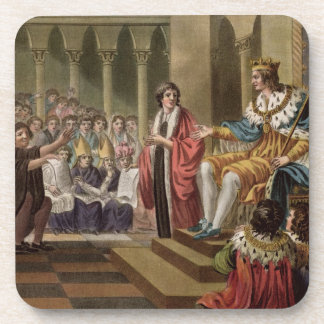 Louis XII (1462-1515) Declared Father of the Peopl Beverage Coasters